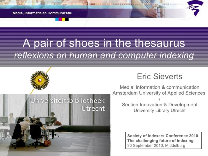Eric Sieverts Media, information & communication Amsterdam University of Applied Sciences  / Section Innovation & Developm...