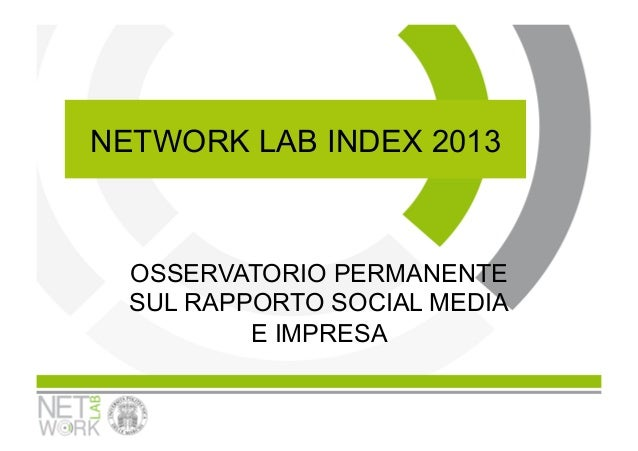 NetWork Lab Index report13