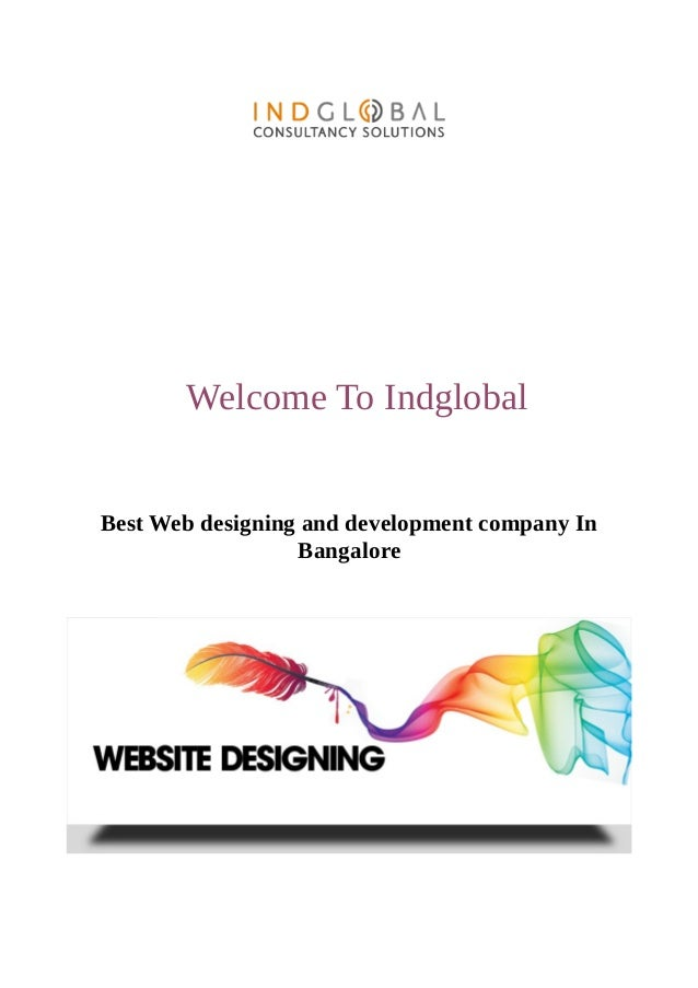 Welcome To Indglobal Best Web designing and development company In Bangalore