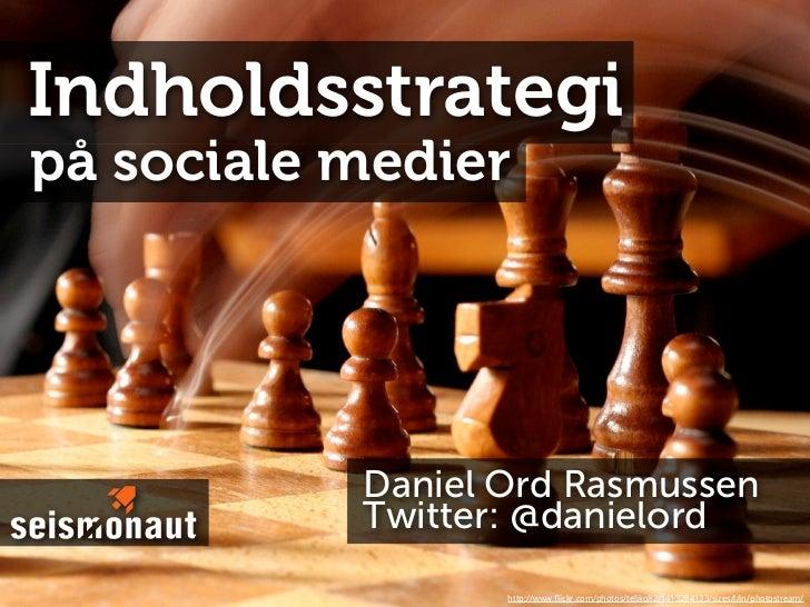Indholdsstrategi på Sociale Medier