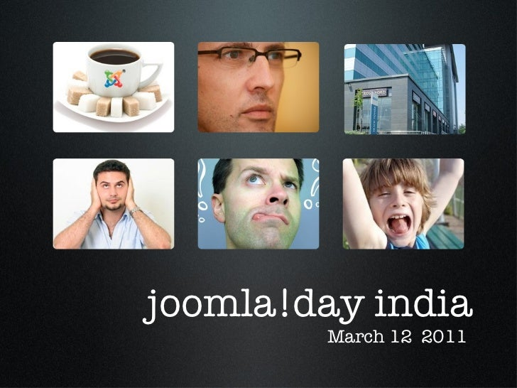 joomla!day india March 12  2011
