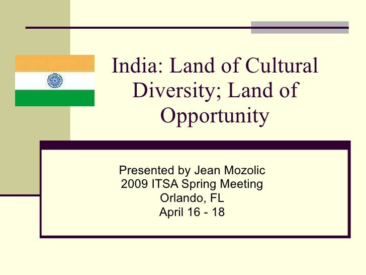 india land of opportunity essay