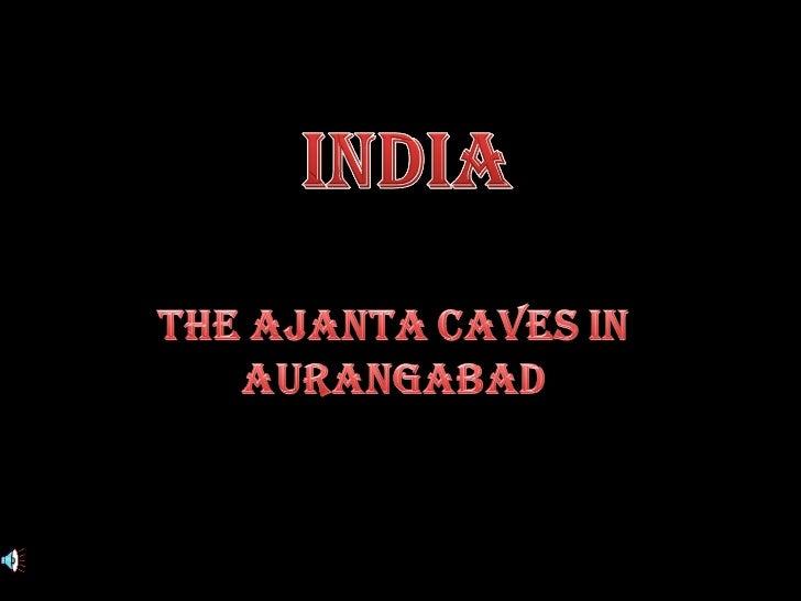 India  Ajanta caves - emanuela atanasiu