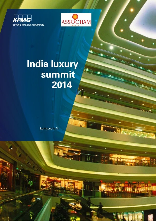 India luxury summit 2014  kpmg.com/in
