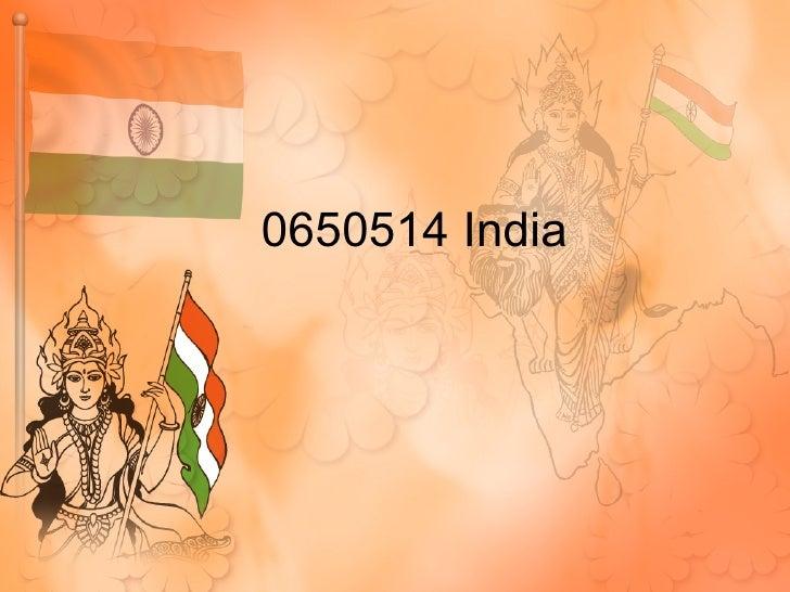 India Presntation