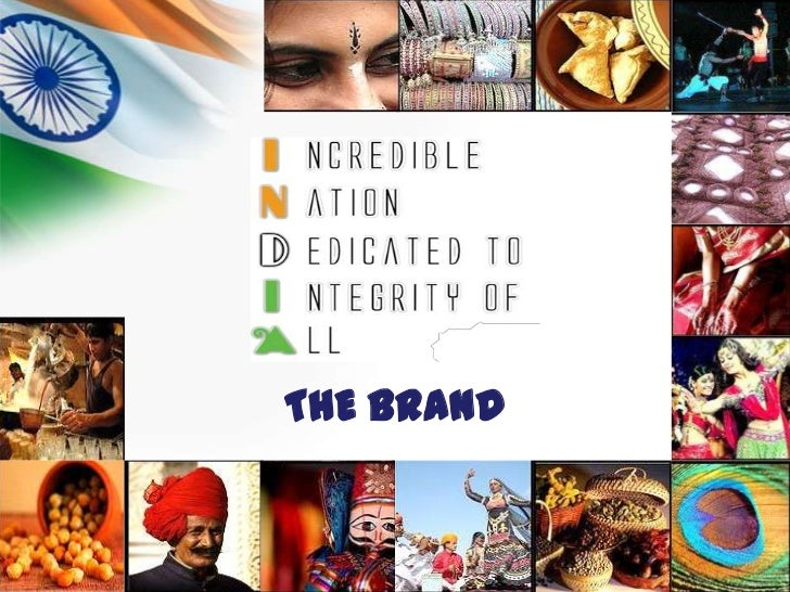 India. The Brand.