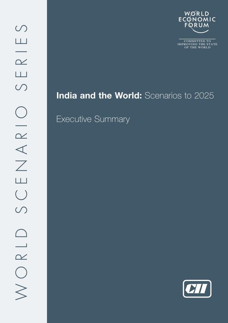 India @2025 Scenarios