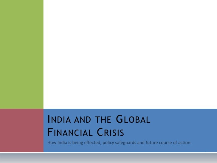 The Implications Of Global Financial Crisis Economics Essay