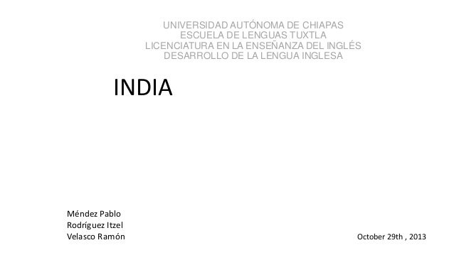 UNIVERSIDAD AUTÓNOMA DE CHIAPAS ESCUELA DE LENGUAS TUXTLA LICENCIATURA EN LA ENSEÑANZA DEL INGLÉS DESARROLLO DE LA LENGUA ...