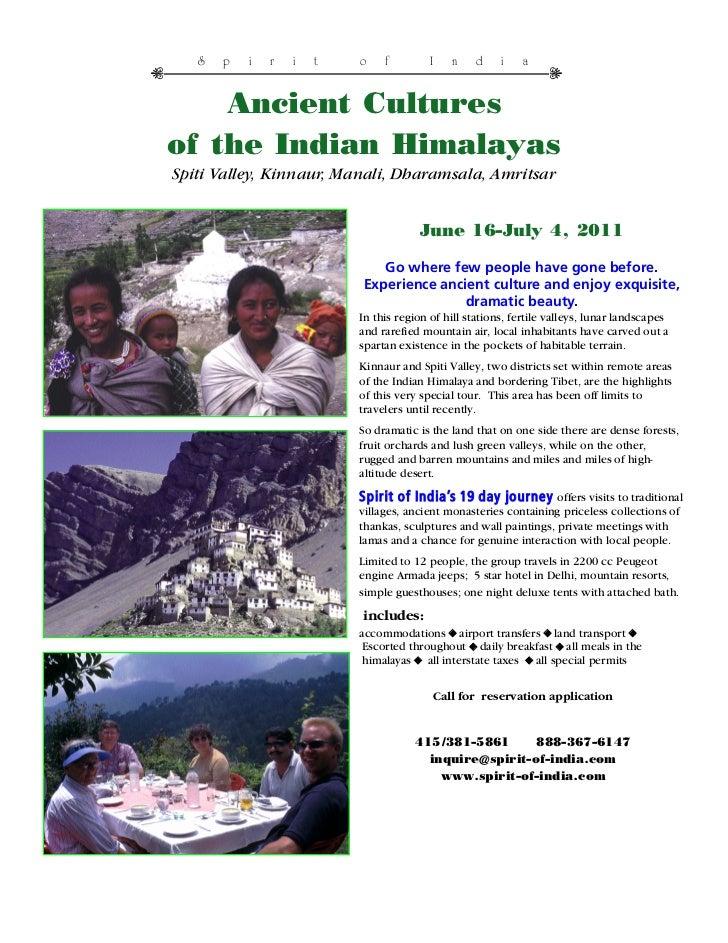 Himalayan Tours - India Travel Tours - Original World