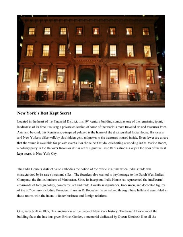 New York's Best Kept Secret Located in the heart of the Financial District, this 19th century building stands as one of th...