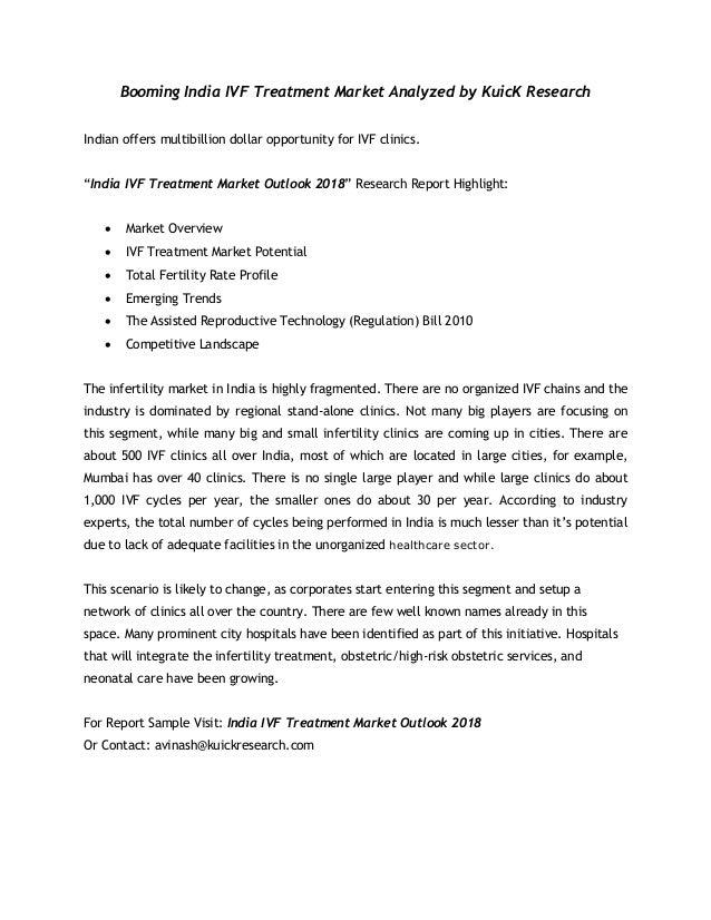 India IVF Treatment Market