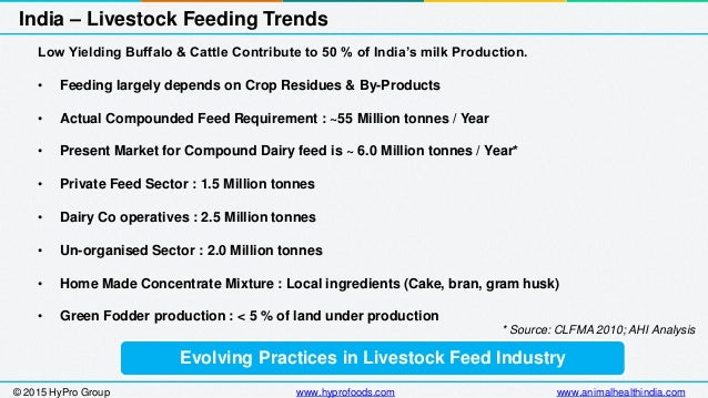 animal feed industry in india essay