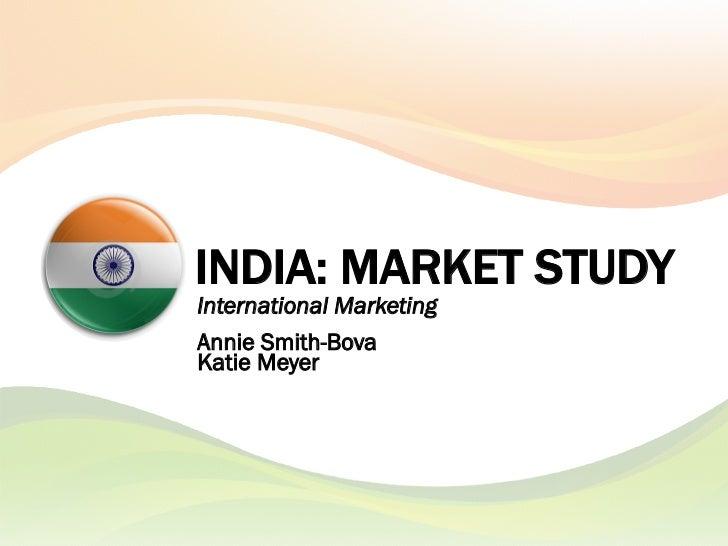 India Market Study