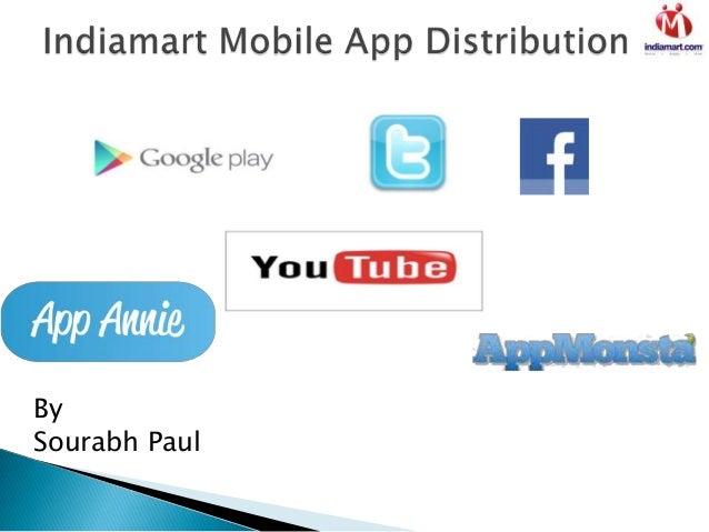 Indiamart mobile app distribution