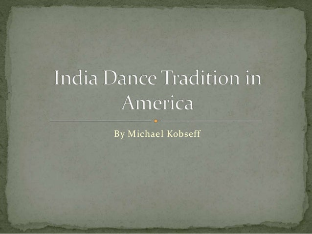 India Music and Dance in America
