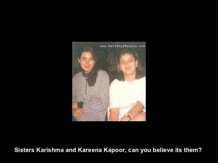 Sisters Karishma and Kareena Kapoor, can you believe its them?