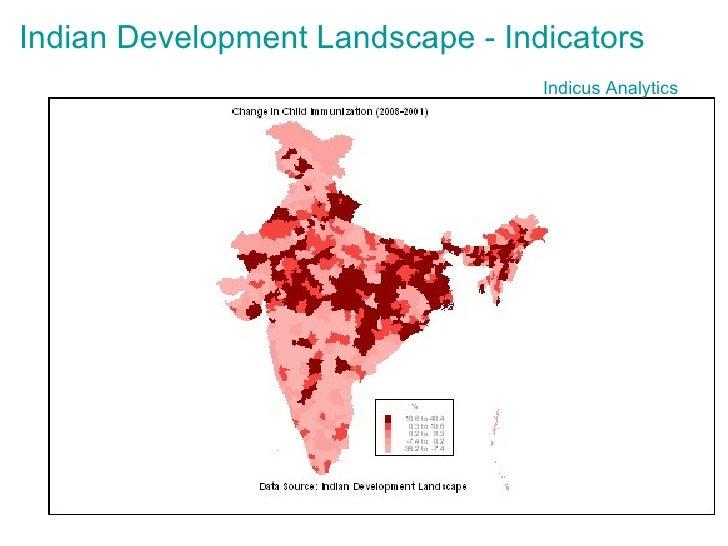 Indicus  Analytics Indian Development Landscape - Indicators