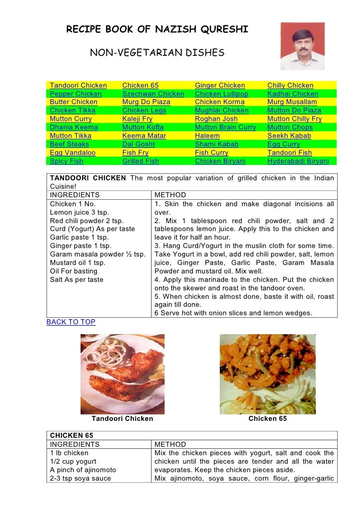 Indian Nonveg Recipes