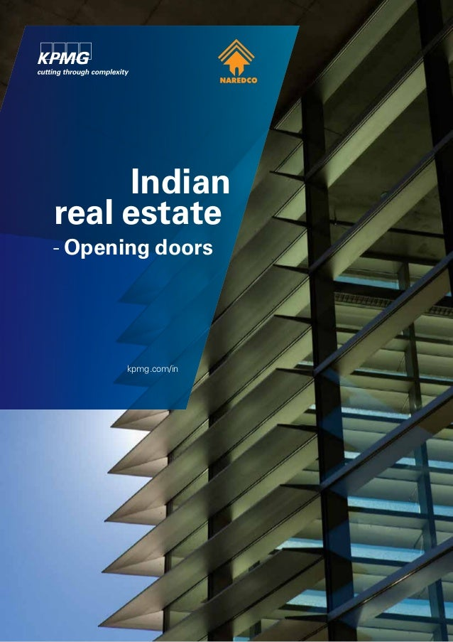 Indian real estate - Opening doors kpmg.com/in