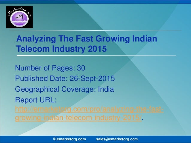 An overview of Indian telecom industry in 2016 and outlook for 2017