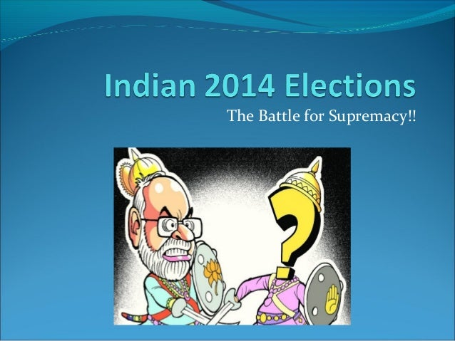 Indian 2014 elections