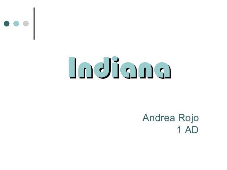 Indiana Andrea Rojo 1 AD