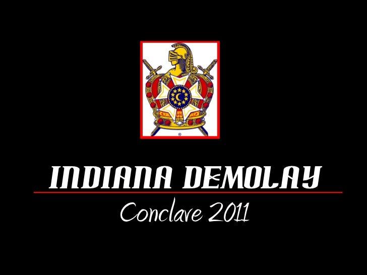 Indiana DeMolay Conclave 2011