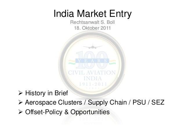 Indian aerospace market