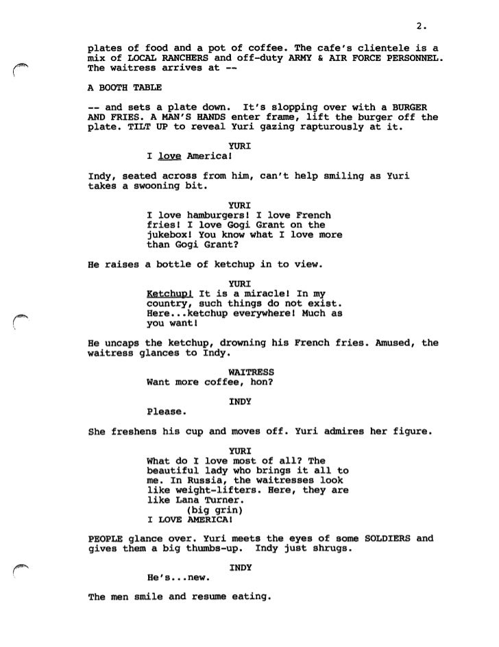 how to write a script for a music video pdf