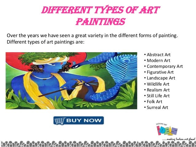 What are the different types of art?