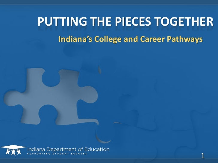 Indiana's college and career pathways