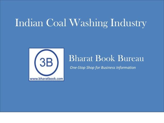 Indian coal washing industry