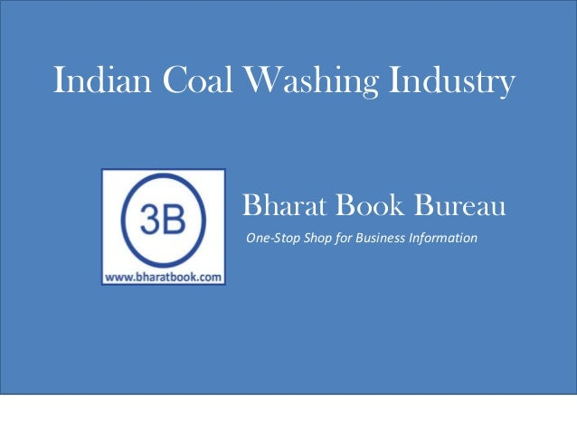 Indian coal washing industry