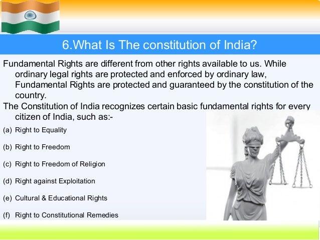 Essay On Constitution