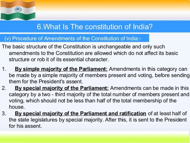 constitution of india essay