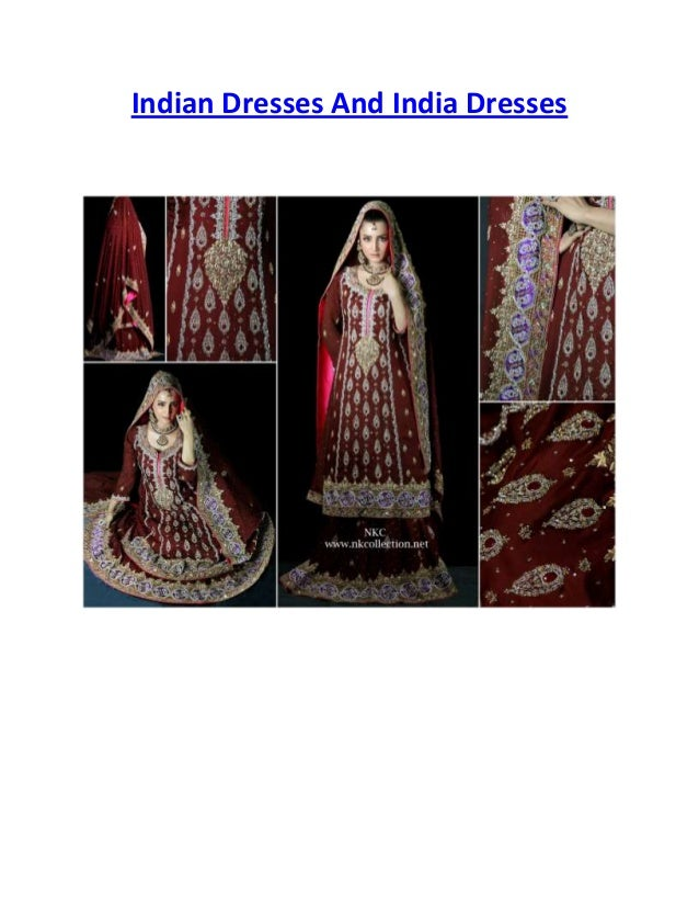 Indian Dresses And India Dresses
