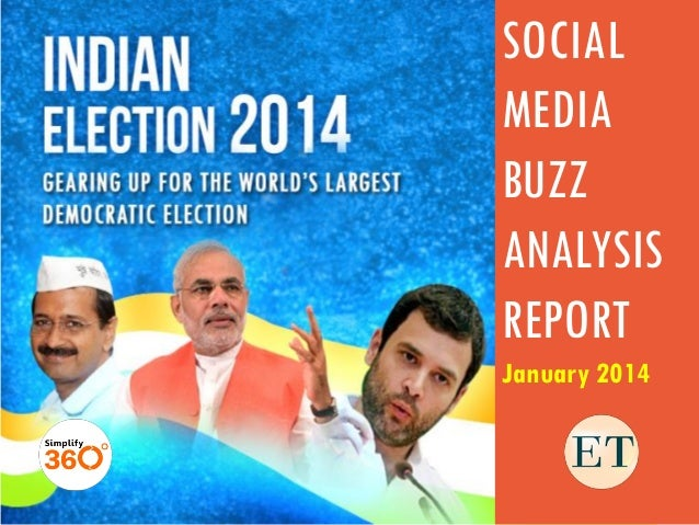 Modi beats Kejriwal to take Top Slot in Social Buzz in January 2014