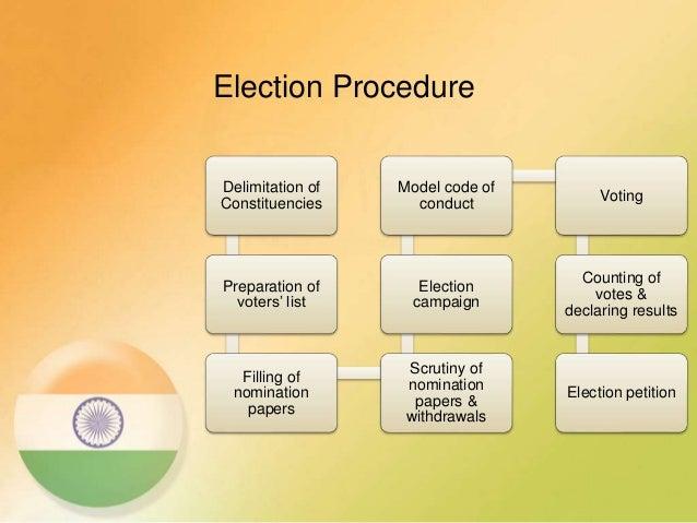 election commission procedure