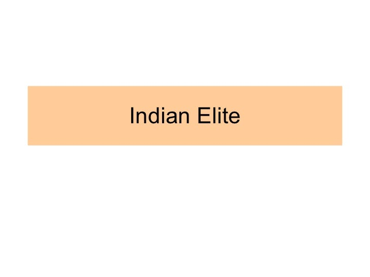 Indian Elite Research