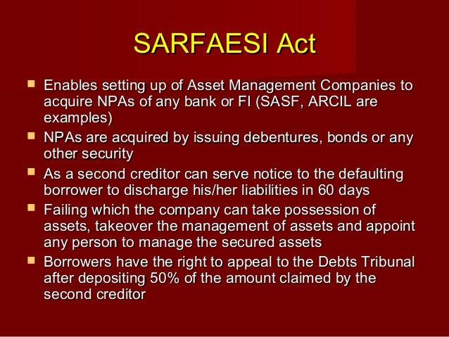 bank sarfaesi act