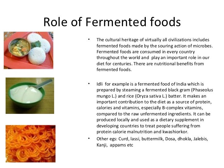 Fermented Food Good For Health