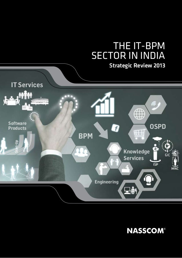 Indian IT BPM sector in India   2013 - A Summary