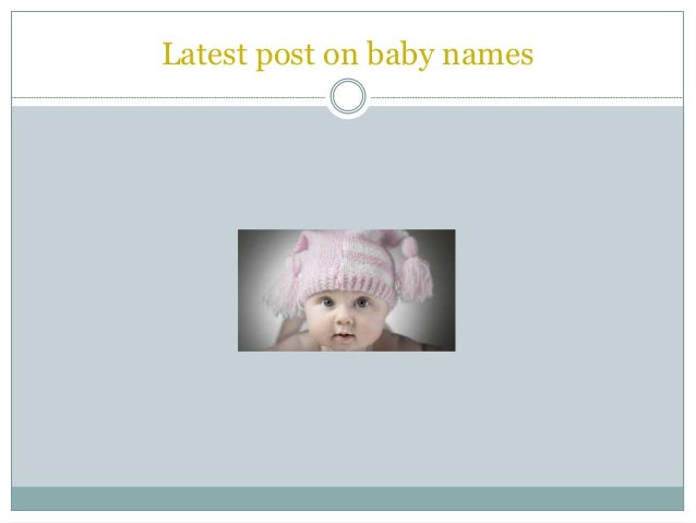Indian baby boy names with Letter &quot ...