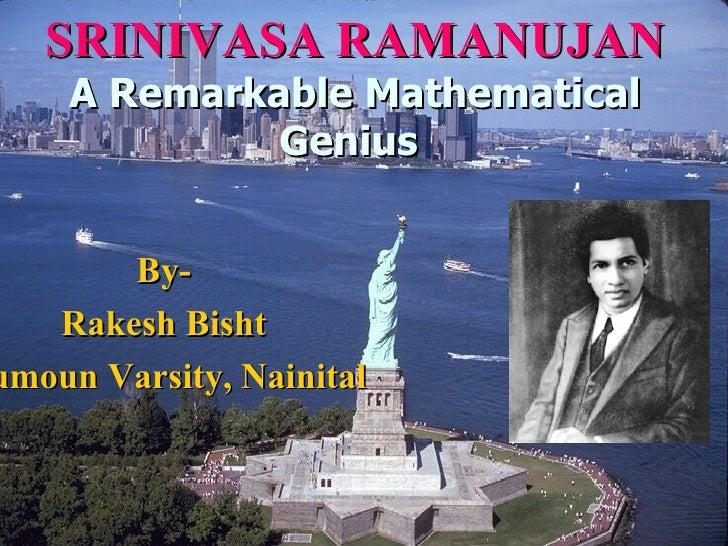 Indian mathematician.