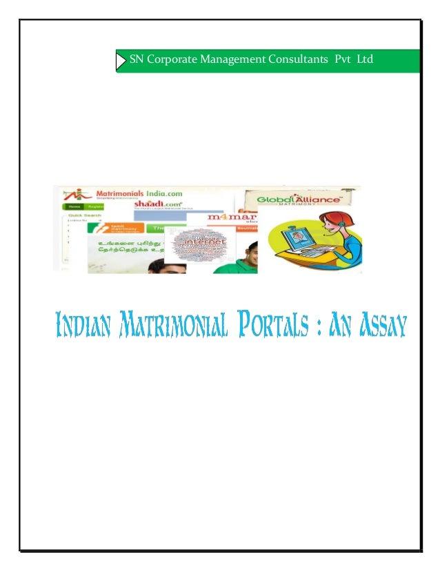 Indian Matrimonial Portals