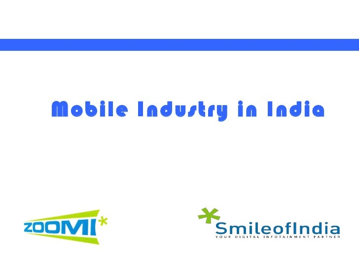 Mobile Industry in India
