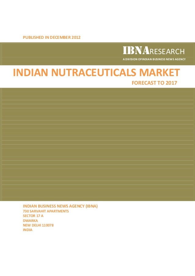 PUBLISHED IN DECEMBER 2012                                      IBNARESEARCH                                      A DIVISI...
