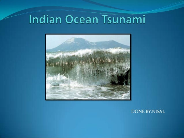 Tsunami By nisal