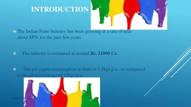 indian paint industry